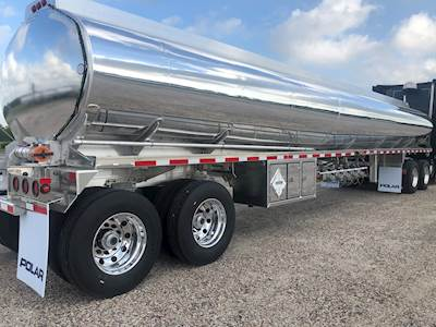 New Polar Petroleum Fuel Tank Trailer